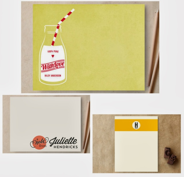 Beautiful stationery for you to purchase at Minted.
